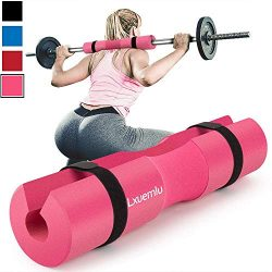 【2019 Upgraded】 Squat Pad Barbell Pad for Squats, Lunges, and Hip Thrusts – Foam Sponge  ...