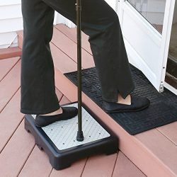 Support Plus Indoor/Outdoor 3 1/2″ High Riser Step – Non-Slip All Weather Top &  ...
