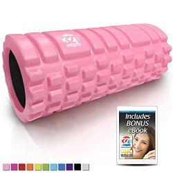 321 STRONG Foam Massage Roller – Deep Tissue Massager for Your Muscles & Back
