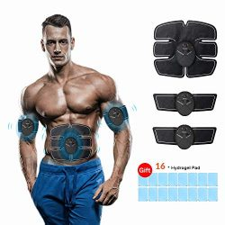 ABS Stimulator, Abdominal Muscle Trainer EMS Muscle Toner for Men/Women