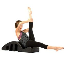 Pilates Yoga Wedge Massage Table Spine Corrector Back Pain Relief Arc Alignment Spine Back Curve ...