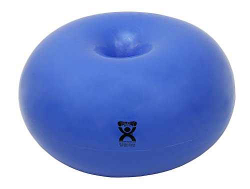 CanDo Donut Exercise, Workout, Core Training, Swiss Stability Ball for Yoga, Pilates and Balance ...