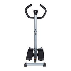 GOTOTOP Twist Stepper Step Machine Foldable Workout Step Machine with Handle Bar,LCD Monitor and ...