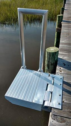 Creekside Metalworks Boat Boarding Platform Dock Step for Boat Lifts
