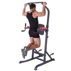K KiNGKANG Power Tower – Home Gym Pull Up Bar Adjustable Multi-Function Fitness Strength T ...