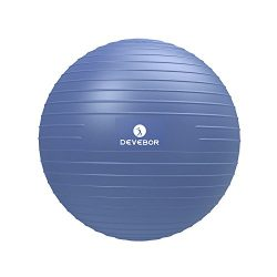 DEVEBOR Professional Grade Thick Exercise Ball(Chair),2,000 lbs Stability Ball,Anti-Burst an ...