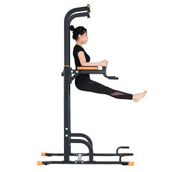 Kicode Power Tower, Pull up Dip Station with Push Up Bars, Strength Training Exercise Home Gym E ...