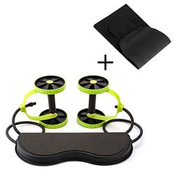 Aurora Originals Ab Roller Power Core Exercise Trainer + Body Fitness Abdominal Sauna Belt