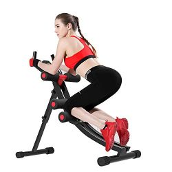 Fitlaya Fitness Core & Abdominal Trainers AB Workout Machine Home Gym Strength Training Ab C ...
