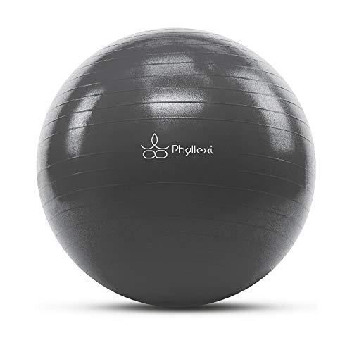 Exercise GYM 85cm Yoga Ball Fitness Pregnancy Birthing Anti Burst Black