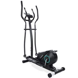 MaxKare Elliptical Machine Trainer Elliptical Exercise Machine for Home Use Life Fitness Bike wi ...