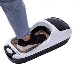 ZYK Automatic Shoe Cover Dispenser, Easy Use,Home Living Room Automatic Foot Cover Box Intellig ...