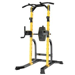GDY Power Tower,Home Gym Strength Training Fitness Equipment Dip Stands Workout Station,Fit for  ...