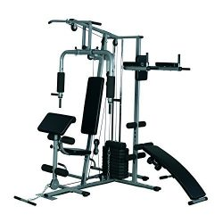 Tidyard Complete Home Gym System All-in-One Fitness Weight Training Exercise Workout Station Equ ...