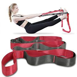 Onory Yoga Strap Stretch Straps for Physical Therapy with Exercise Booklet & Carry Bag Non-E ...