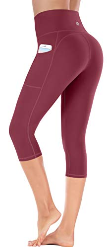 Ewedoos Yoga Pants with Pockets for Women Ultra Soft Leggings with Pockets High Waist Workout Pa ...