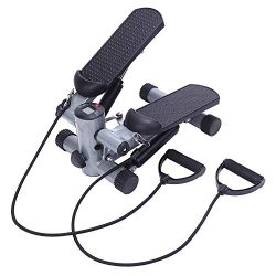 SSLine Mini Step Machine Fitness Air Stair Stepper Exercise Climbing Cardio Foot Pedal Stepper w ...