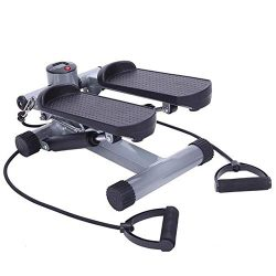 Aerobic Fitness Step Machine Stair Stepper Twist Climber Exercise Step Machine with Band
