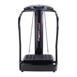 Pinty 2000W Whole Body Vibration Platform Exercise Machine with MP3 Player (180 Speed Levels Pla ...