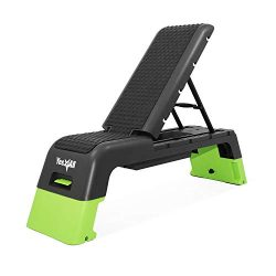 Yes4All Multifunctional Fitness Aerobic Step Platform/Aerobic Deck, Household Step Workout Bench ...