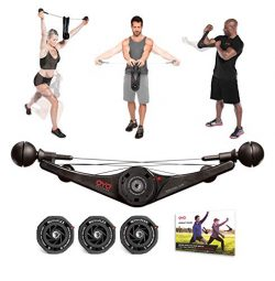 OYO Personal Gym Basic – Full Body Portable Gym Equipment Set for Exercise at Home, Office ...