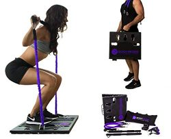 BodyBoss Home Gym 2.0 – Full Portable Gym Home Workout Package + 1 Set of Resistance Bands ...