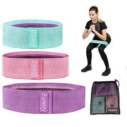 Famiry Resistance Bands for Legs and Butt, Booty Bands, Exercise Bands Set Workout Bands Hip Ban ...